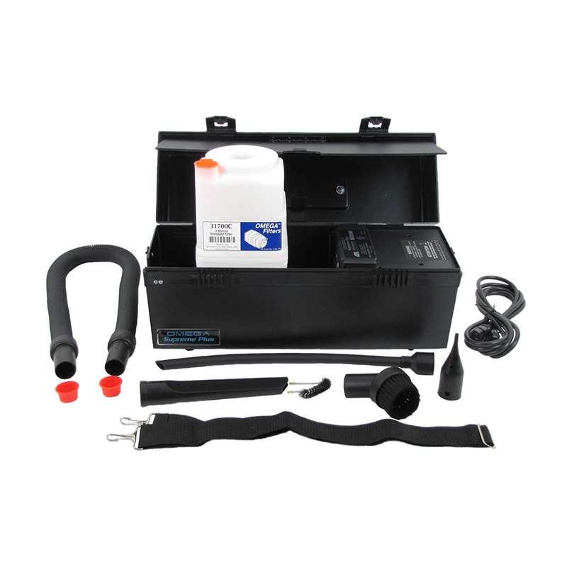 ESD-Safe Omega Supreme Plus Vacuum, 220V, with 0.3 Micron Standard Filter Cartridge