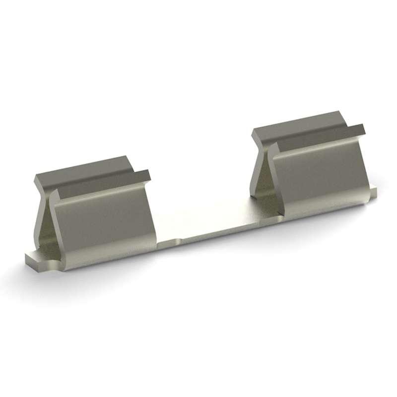 "MICRO Shield Clip, .006 X .003"", 10000 per Reel, Post Plated Tin"