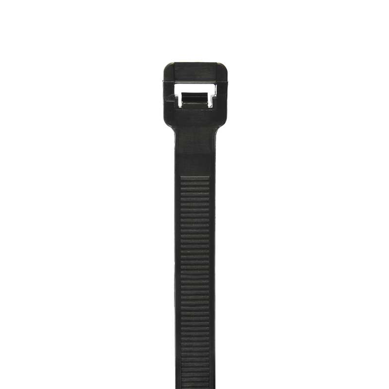 Extra Heavy Duty Cable Tie, Black 34 inch 175 Lb minimum tensile strength, 50/BG, 500/CA