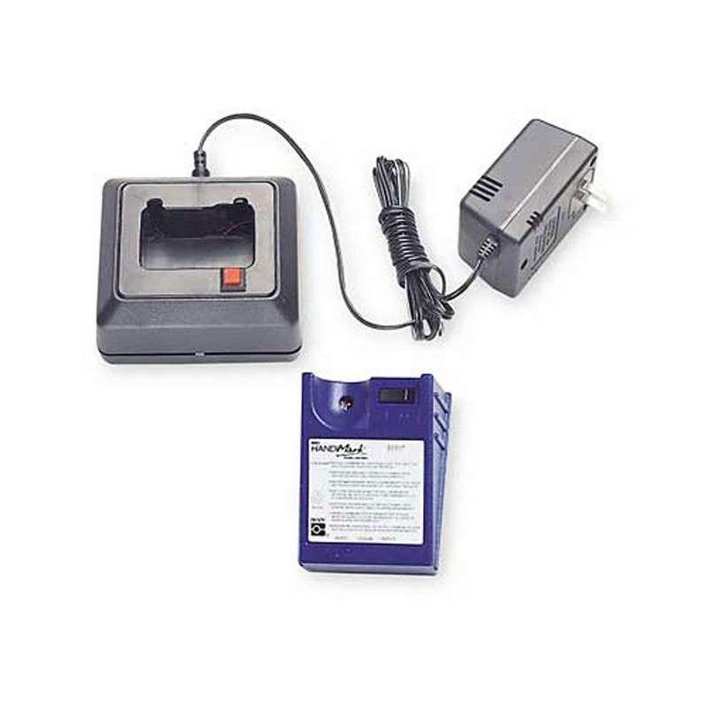 This is an image of Gargantuan Brady Handimark Portable Label Maker Load New Supply