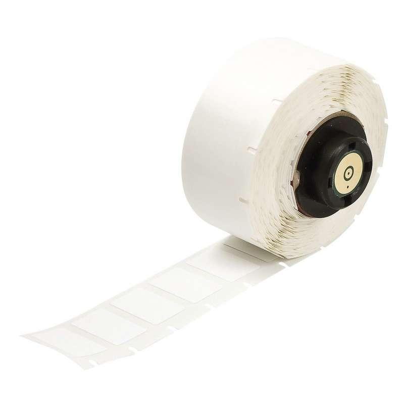 "TLS 2200™/TLS PC Link® Nylon Cloth Labels, 1/2"" x 3/4"", Matte White, 500 per Roll"