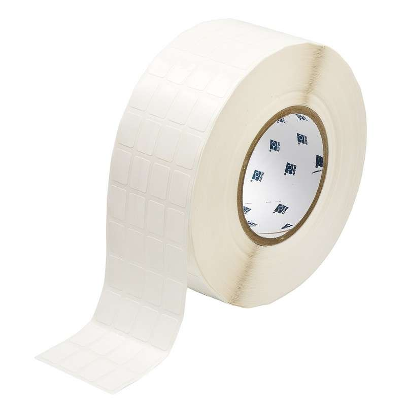 "3"" Core Series CleanLift Thermal Transfer Label, White, B-498, 0.75 x 0.5 in, 10000 Labels per Roll"