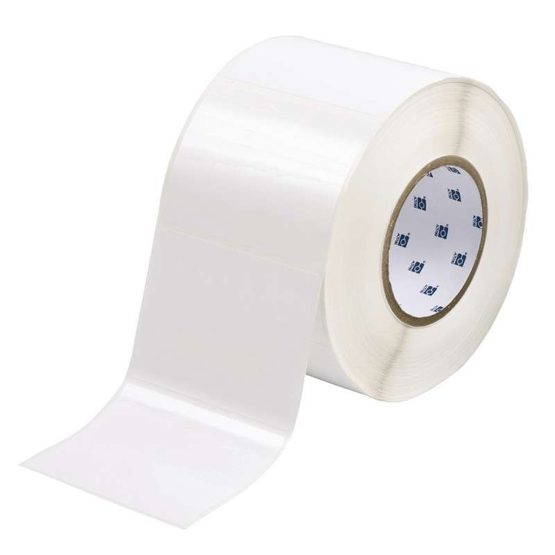 """3"""" Core Series Glossy Polyester Thermal Transfer Labels, White, B-422, 3 x 4 in, 1000 Labels per Roll"""