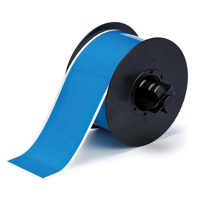 """BBP™31 Hi-Performance Polyester Tape, 2.25"""" x 100', 1 Roll, Blue Gloss"""