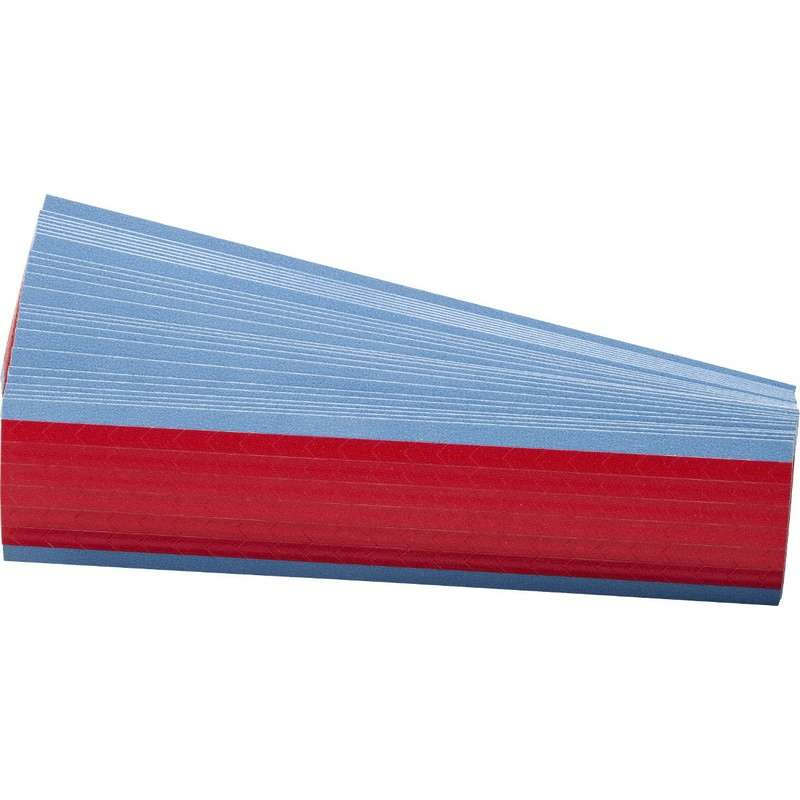Vinyl Inspection Arrow with Primary Color Red, B-500, 0.25 x 0.5in, 138 Labels per Card