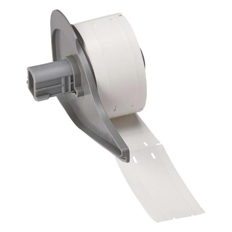 """BMP®71 Series Polyethylene Tags, Matte White, 3/4"""" x 3"""", 100 per Roll"""