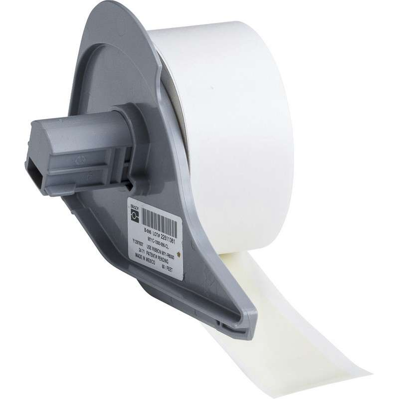 """BMP®71 Series Vinyl Film Indoor/Outdoor Tape with Permanent Adhesive, Clear, 1"""" x 50', 1 Each"""