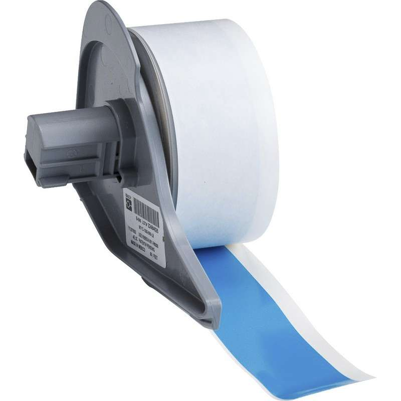 """BMP®71 Series Vinyl Film Indoor/Outdoor Tape with Permanent Adhesive, Light Blue, 1"""" x 50', 1 Each"""