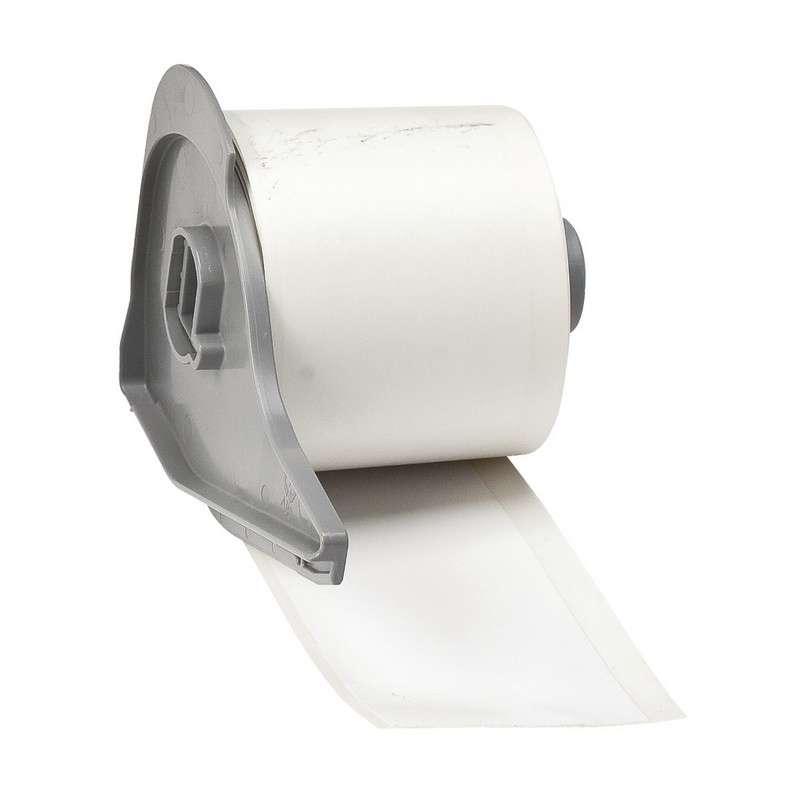 "BMP®71 Series Vinyl Film Economy Polypropylene Tape, White, 2"" x 50', 1 Each"