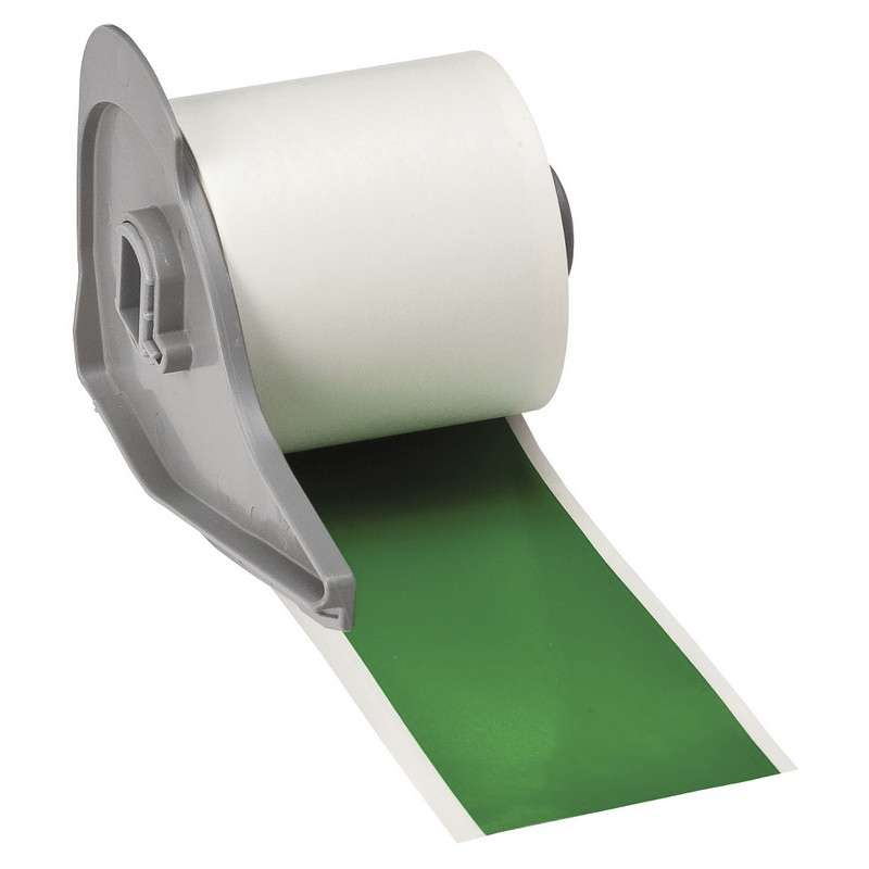 """BMP®71 Series Vinyl Film Indoor/Outdoor Tape with Permanent Adhesive, Green, 2"""" x 50', 1 Each"""