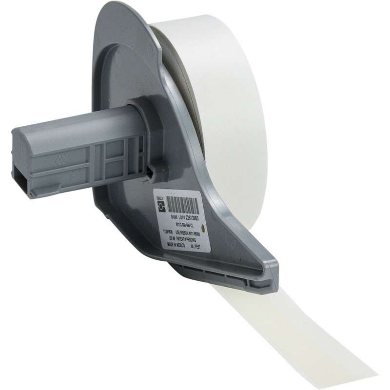 """BMP®71 Series Vinyl Film Indoor/Outdoor Tape with Permanent Adhesive, Clear, 1/2"""" x 50', 1 Each"""