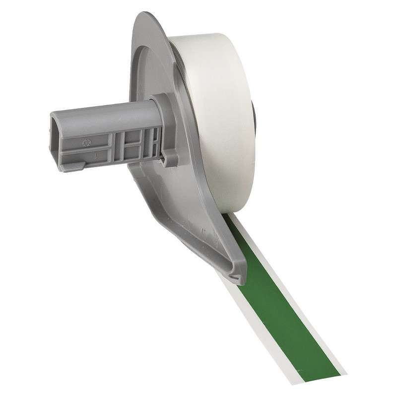 """BMP®71 Series Vinyl Film Indoor/Outdoor Tape with Permanent Adhesive, Green, 1/2"""" x 50', 1 Each"""