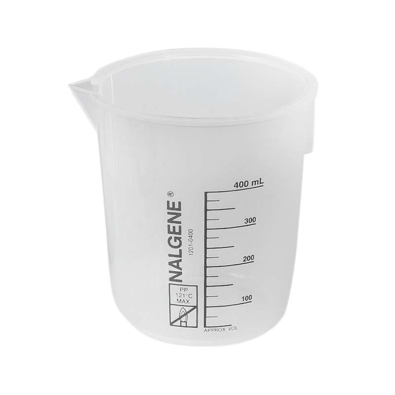 Polypropylene Beaker for Ultrasonic Cleaners, 400mL