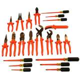 Insulated General Purpose Tool Kit with Case, 22 Pieces