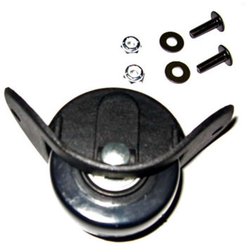 Replacement Wheel Kit with 2 Wheels, Bracket and Hardware for 8300/8800 Series Cases, Black