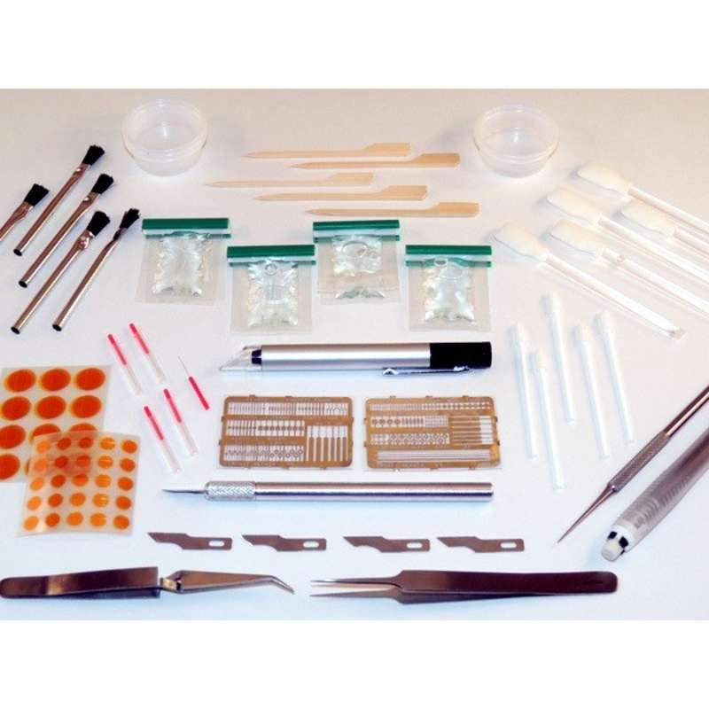Aerospace Repair Kit for Damaged Lands, Surface Mount and BGA Pads with ESD-Safe Case