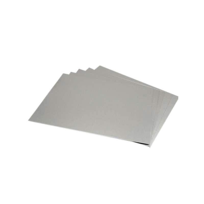 "Aluminum Heat Shield Plates 5 x 7"", 5 per Pack"