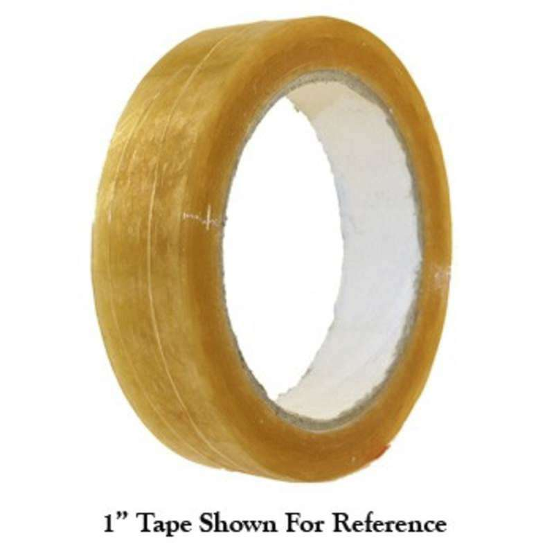 "Anti-Static Transparent Tape, 3"" Core, 3/4"" x 72yd, Biodegradable"