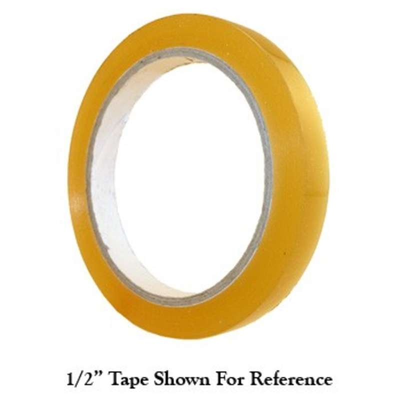 "Anti-Static Transparent Tape, 3"" Core, 1/2"" x 72yd, Biodegradable"