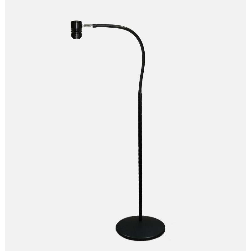 """Saturn LED Spot Light with 25"""" Gooseneck Reach and Weighted Stand, Black"""