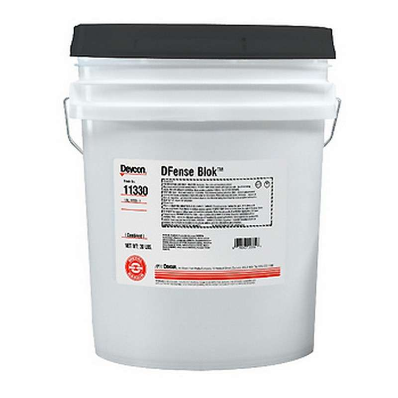DFense Blok™ Wear and Abrasion Coating, 30 lb Bucket