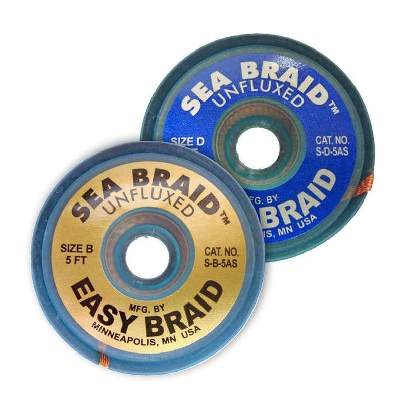 "Sea Braid™ Solder Braid .075"" Green Series Standard Spool, 100'"