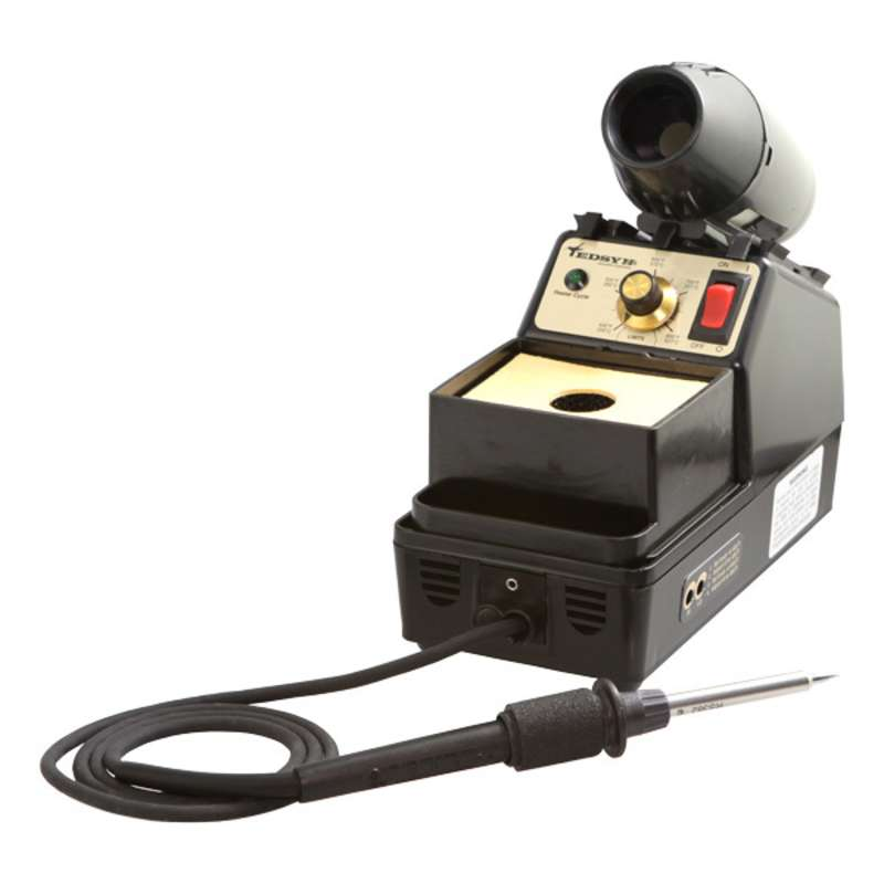 Loner® ESD-Safe Temperature Controlled Single Iron Soldering Station, 120 Volt 95 Watt