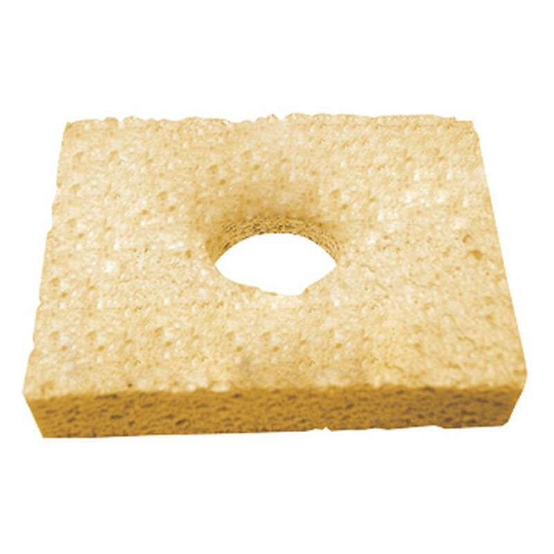 Soldering Tip Cleaning Sponge with Center Hole, 3-1/4 x 2-1/2""