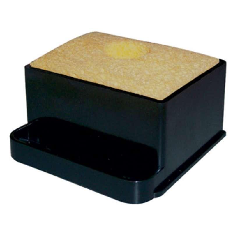 Solder Tip Cleaning Sponge Holder with LN230 Liner, RS199 Sponge and RS243 Leveling Pad