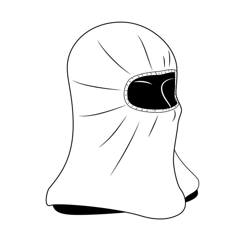 Cleanroom Disposable Hood, White, 100 per Case