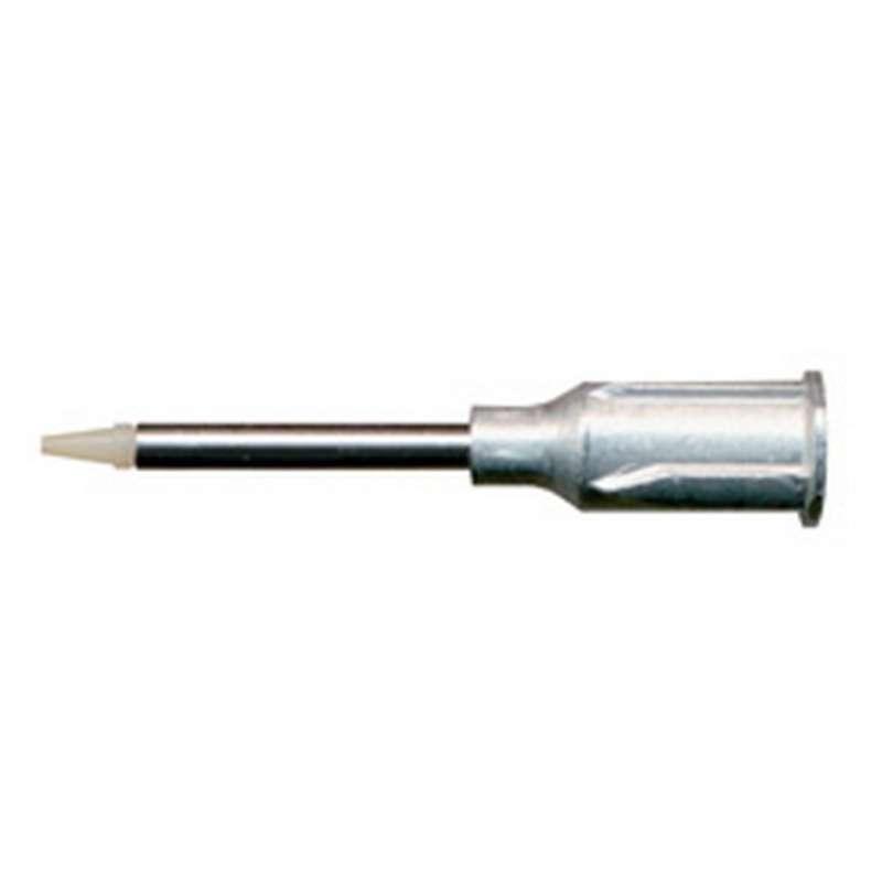"Vacuum Pickup - Tip Straight - Three Star Black Buna-N Static Safe OD 0.03"" ID 0.02"""