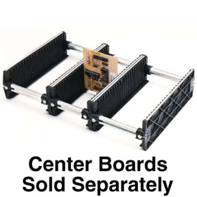 "Karry-All Model 76 Conductive Adjustable Board Rack, 13-1/4 x 15 x 4"""