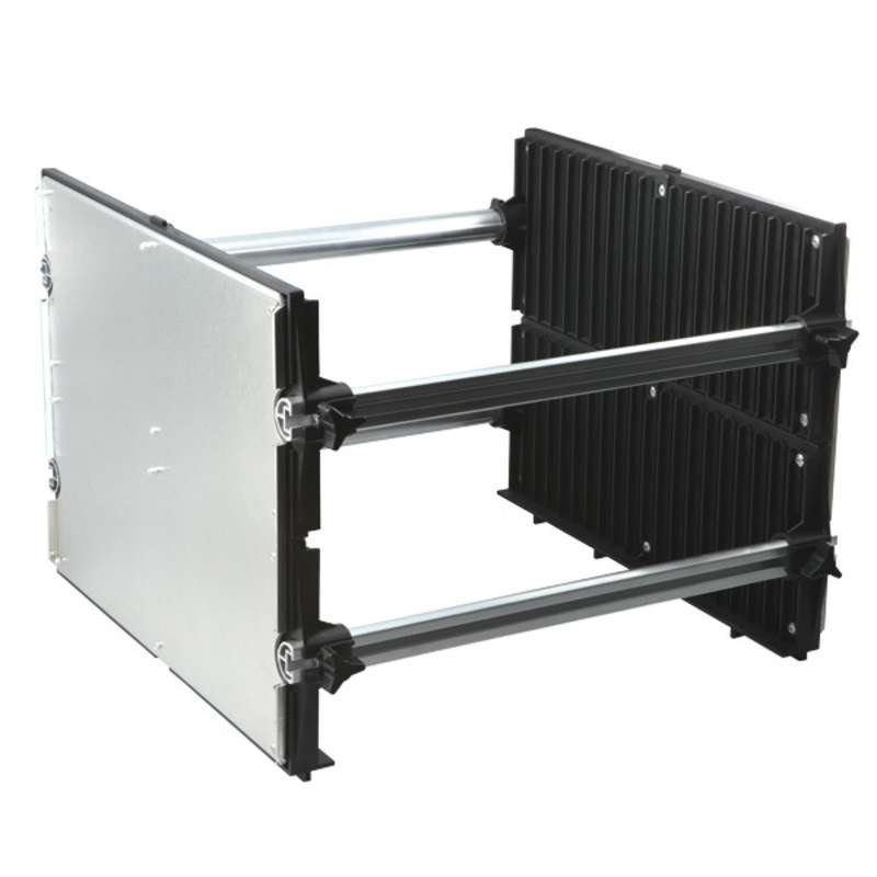 "Karry-All Model 79 Board Rack Conductive 15.25""x15""x11"""