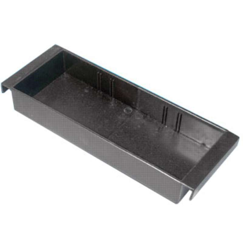 "ESD-Safe Component Tray, 11-5/8 x 4.4 x 1.84"" I.D. with Slots"