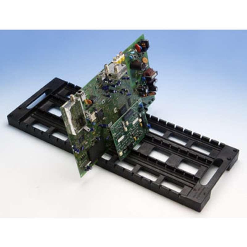 "Rack-All Model RA-24CP Conductive PCB Board Rack, 8 x 23"" Long"