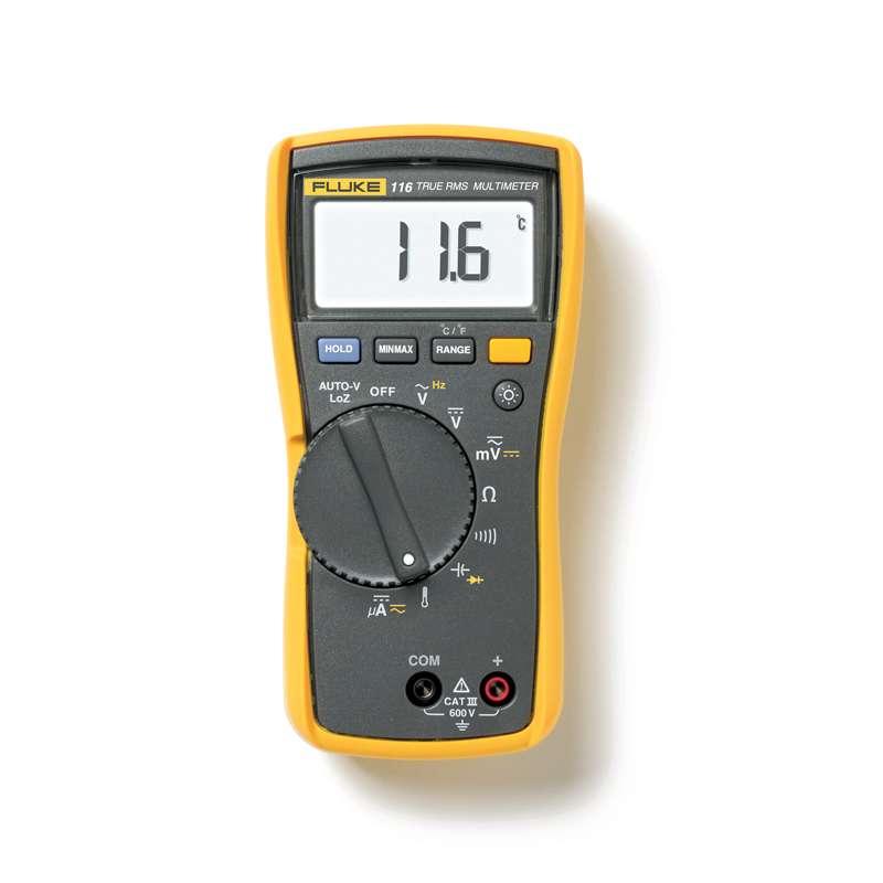 Series 11X Digital Multimeter, Maximum AC Current Measurement 0.1, Battery