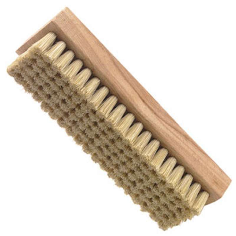 """ESD-Safe Brush with 3/4"""" Long Hog Hair Bristles and a Plywood Handle, 2-1/4"""" x 7-1/8"""" Long"""