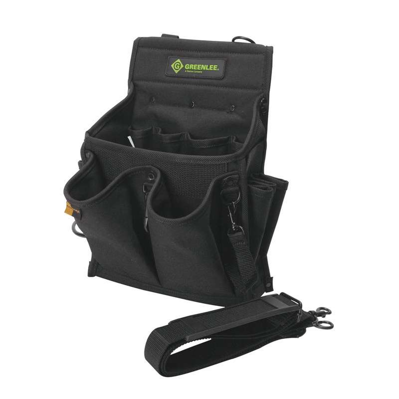 Rugged CORDURA® Fabric Tool Caddy with 20 Pocket, 10 x 7 x 13""