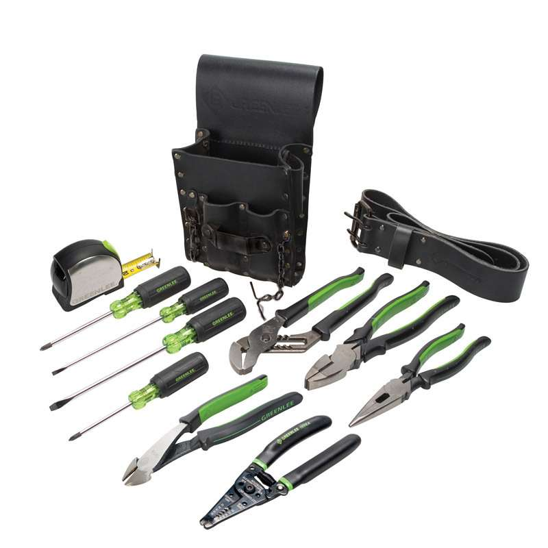 Electrician's Tool Kit, 12 Pieces