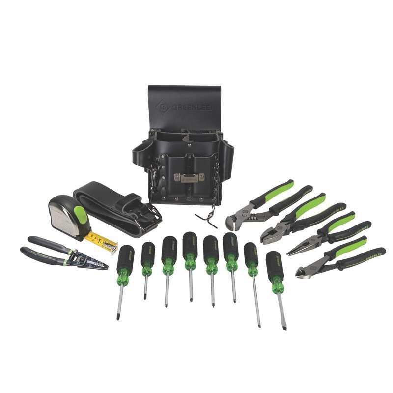 Metric Electrician's Tool Kit, 16 Pieces