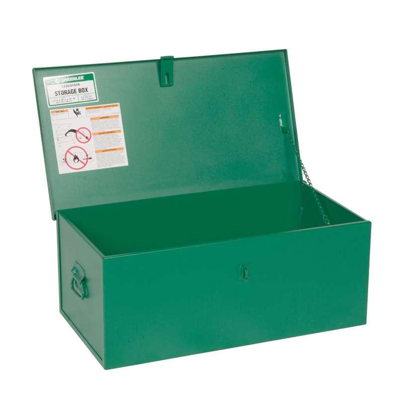 Metal Storage Chest, 30 x 16 x 12