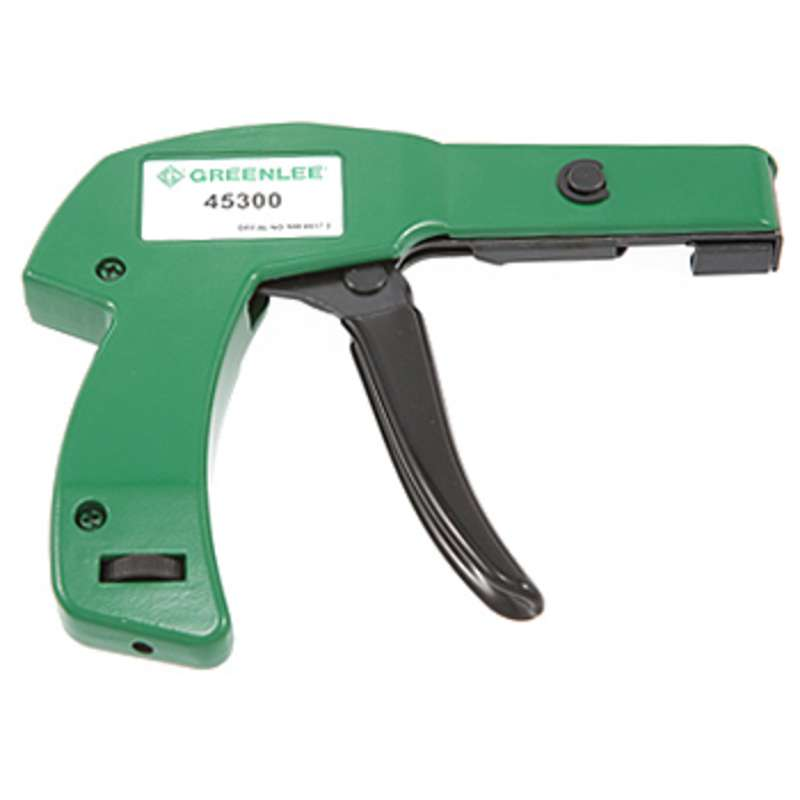 """Heavy Duty Cable Tie Installation Gun for up to 1/4"""" Wide Ties"""