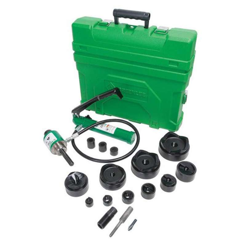 "Slug-Buster® Hydraulic Conduit Punch Driver Kit, Punch Sizes: 1/2"" to 2"" and 2-1/2"" to 4"""