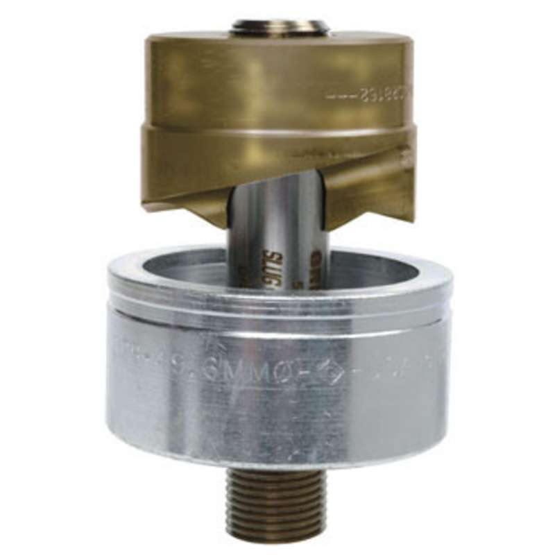 """Slug-Splitter® SC Knockout Conduit Punch Unit for Use with the 7646 and 7625 Hydraulic Drivers, Hole Size 1-15/16"""""""