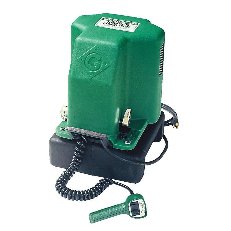 Electric Hydraulic Pump for all Greenlee Benders