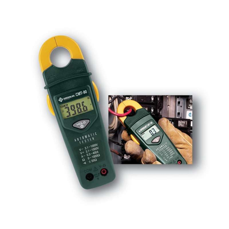 Automatic Electrical Clamp On Tester
