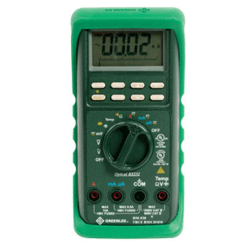 Electrical Tester Greenlee Dm 40 : Greenlee digital multimeter with auto and manual ranging