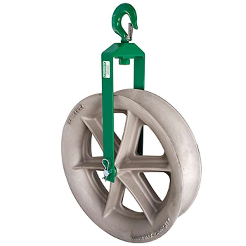 "24"" Hook Sheave with 8,000 lb Capacity"