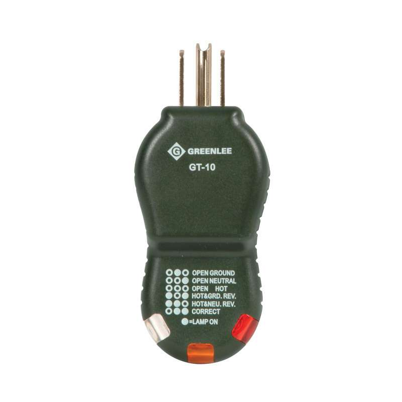 Polarity Cube Circuit Tester for 120VAC, 3 Wire Circuits