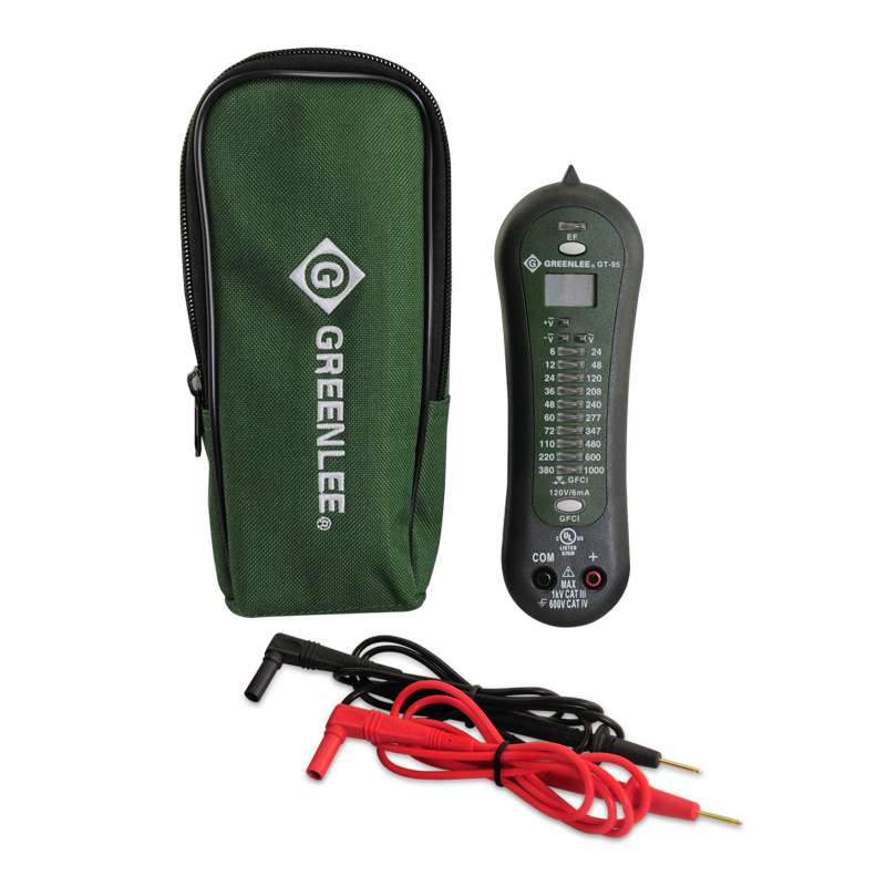 Greenlee Voltage Tester : Greenlee voltage and continuity tester up to volts